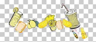 Apple Juice Tea Fruit Lemon PNG