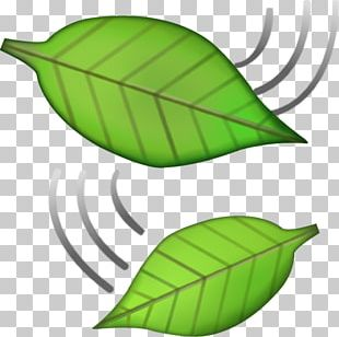 Emojipedia Sticker IPhone Leaf PNG