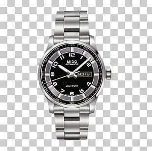 Mido Automatic Watch Clock Swiss Made PNG