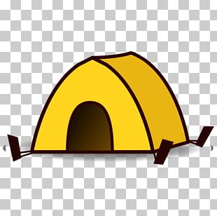 Emoji Tent Text Messaging Camping SMS PNG