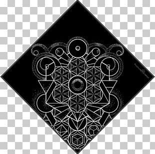 Sacred Geometry Circle Symbol Art PNG