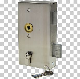 Lock Latch Stainless Steel Gate PNG