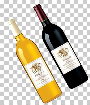Red Wine Juice Bottle PNG