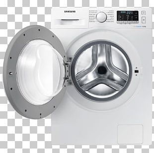 Samsung Washing Machine Washing Machines Samsung 1400rpm Ecobubble Washing Machine PNG
