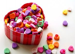 Valentine's Day Candy Gift Heart Chocolate PNG