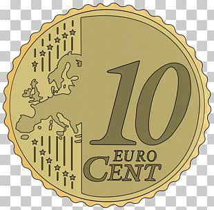 1 Cent Euro Coin 50 Cent Euro Coin 10 Euro Cent Coin PNG