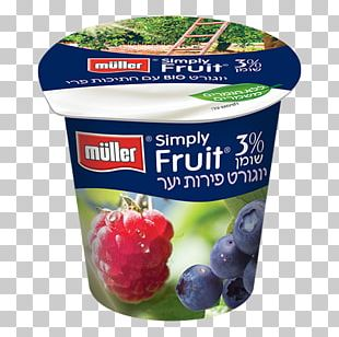 Soured Milk Müller Food Berry PNG