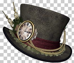Steampunk Top Hat PNG