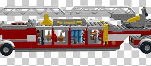 Fire Engine Car LEGO Motor Vehicle Automotive Design PNG