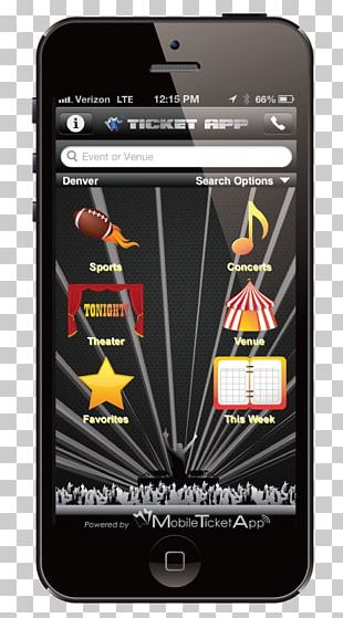 Smartphone Mobile Ticketing Android Handheld Devices PNG