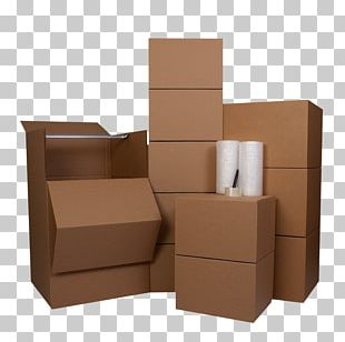 Mover Relocation Accounting Box Carton PNG