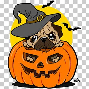 Pug T-shirt Hoodie Halloween PNG