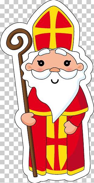 Santa Claus Bredele Saint Nicholas Day Christmas December 6 PNG