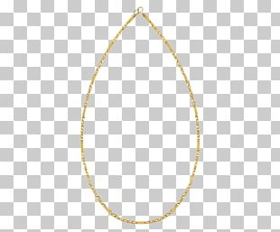 Body Jewellery Necklace Circle Oval PNG