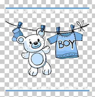 Infant Boy Child Baby Shower PNG