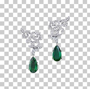 Earring Emerald Jewellery Necklace Gilan PNG