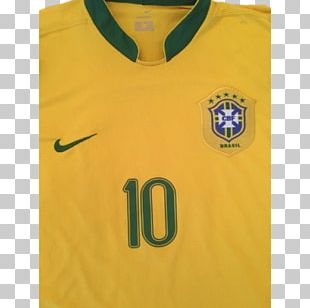 T-shirt 2006 FIFA World Cup Brazil National Football Team Jersey PNG