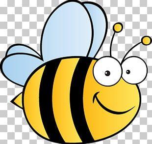 Honey Bee Cartoon PNG