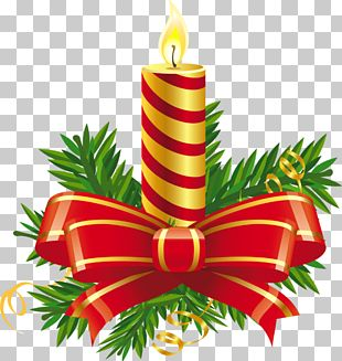 Christmas Day Candle PNG