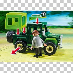 Car Off-road Vehicle Toy Playmobil PNG