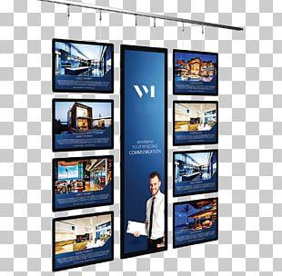 Display Advertising Digital Marketing Billboard Display Device PNG