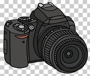 Single-lens Reflex Camera Drawing Photography PNG