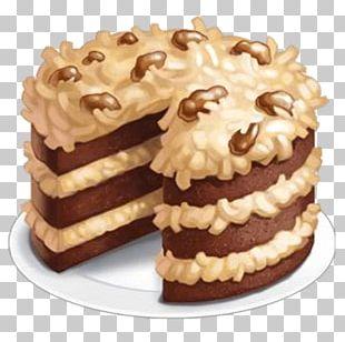German Chocolate Cake Carrot Cake Hot Milk Cake PNG