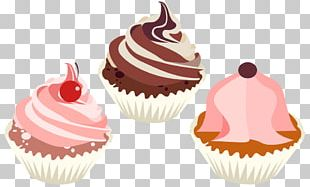 Cupcake Frosting & Icing American Muffins Red Velvet Cake Cream PNG