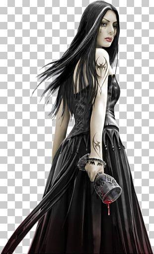 Gothic Art Vampire Dark Fantasy Gothic Architecture PNG