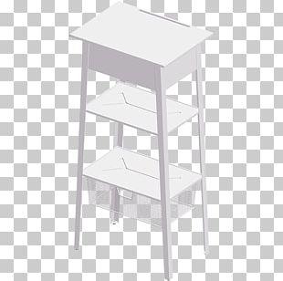 Table Bar Stool Shelf PNG