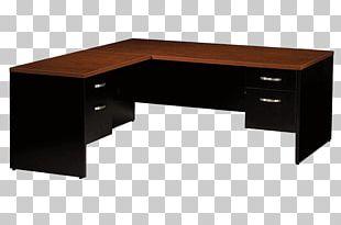 Desk Table Office Furniture PNG