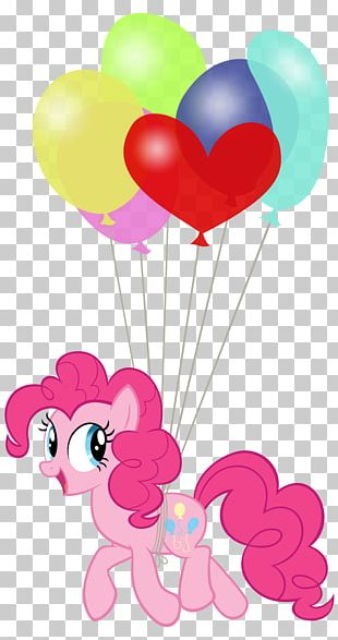 Pinkie Pie Pony Rainbow Dash Balloon Twilight Sparkle PNG