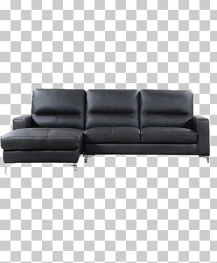 Sofa Bed Chaise Longue Couch Furniture Leather PNG