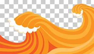 Wind Wave Poster PNG