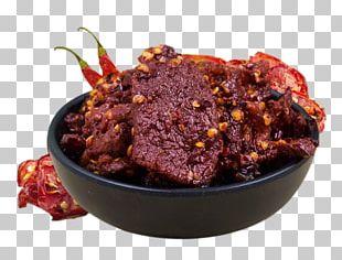 Jerky Short Ribs Rendang Beef PNG