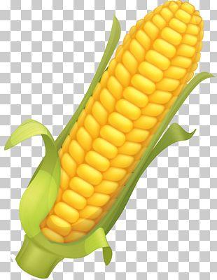 Corn Flakes Maize Corncob Illustration PNG
