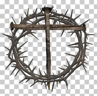 Crown Of Thorns Christian Cross Christian Symbolism PNG