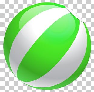 Beach Volleyball Sphere PNG