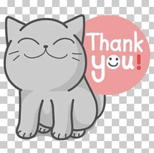 Whiskers Kitten Cat Telegram Sticker PNG