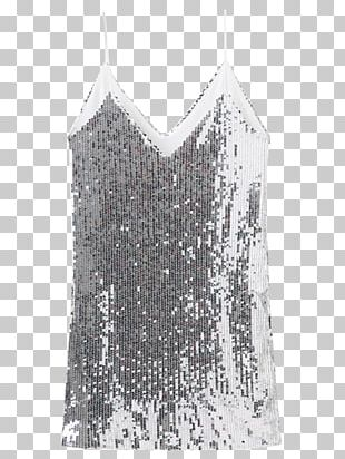 Party Dress Clothing T-shirt Sequin PNG