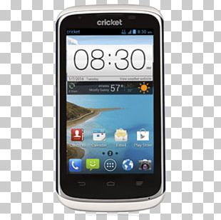 ZTE X760 Cricket Wireless Android Smartphone PNG