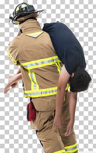 Firefighter Rescue Fireman's Carry Firefighting Fire Engine PNG