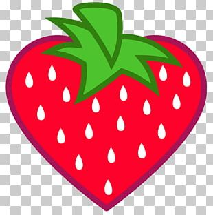 Heart Shape Strawberry Fruit PNG