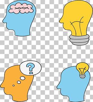 Incandescent Light Bulb Cerebrum Brain PNG