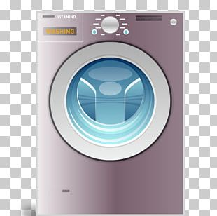 Washing Machine Laundry Clothes Dryer Home Appliance PNG