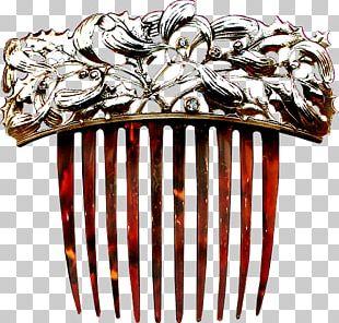 Comb Art Nouveau Artist PNG
