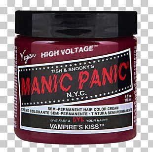 Hair Coloring Manic Panic Human Hair Color Dye PNG