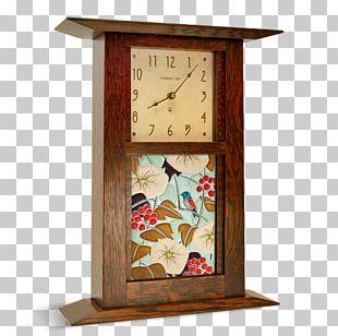 Motawi Tileworks Mantel Clock Arts And Crafts Movement Furniture PNG