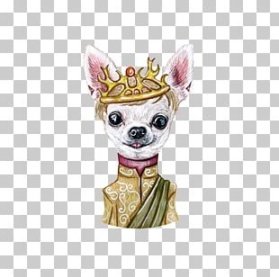 Chihuahua Puppy Illustration PNG