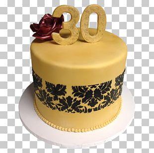 Birthday Cake Frosting & Icing Sugar Cake Torte Wedding Cake PNG